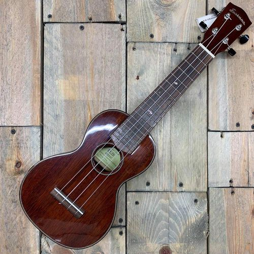 Eastman EU3S Hand Built Soprano Ukulele, Solid Mahogany Body, Nitro Finish, Inc. Hard Case